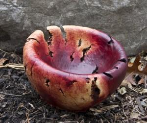 Mananita Burl Bowl