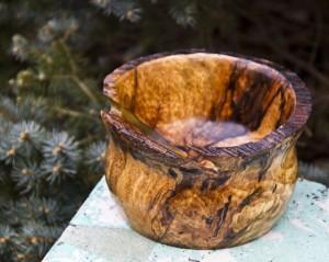 Splated Copper Beech Bowl
